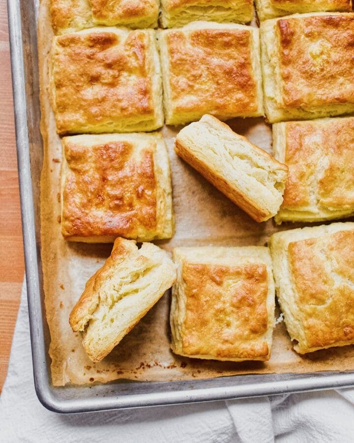 Joanna Gaines recipe for JoJo's Biscuits from the Magnolia Table Cookbook