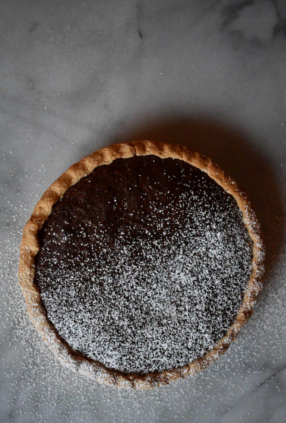 Joanna Gaines brownie pie prepared by KendellKreations