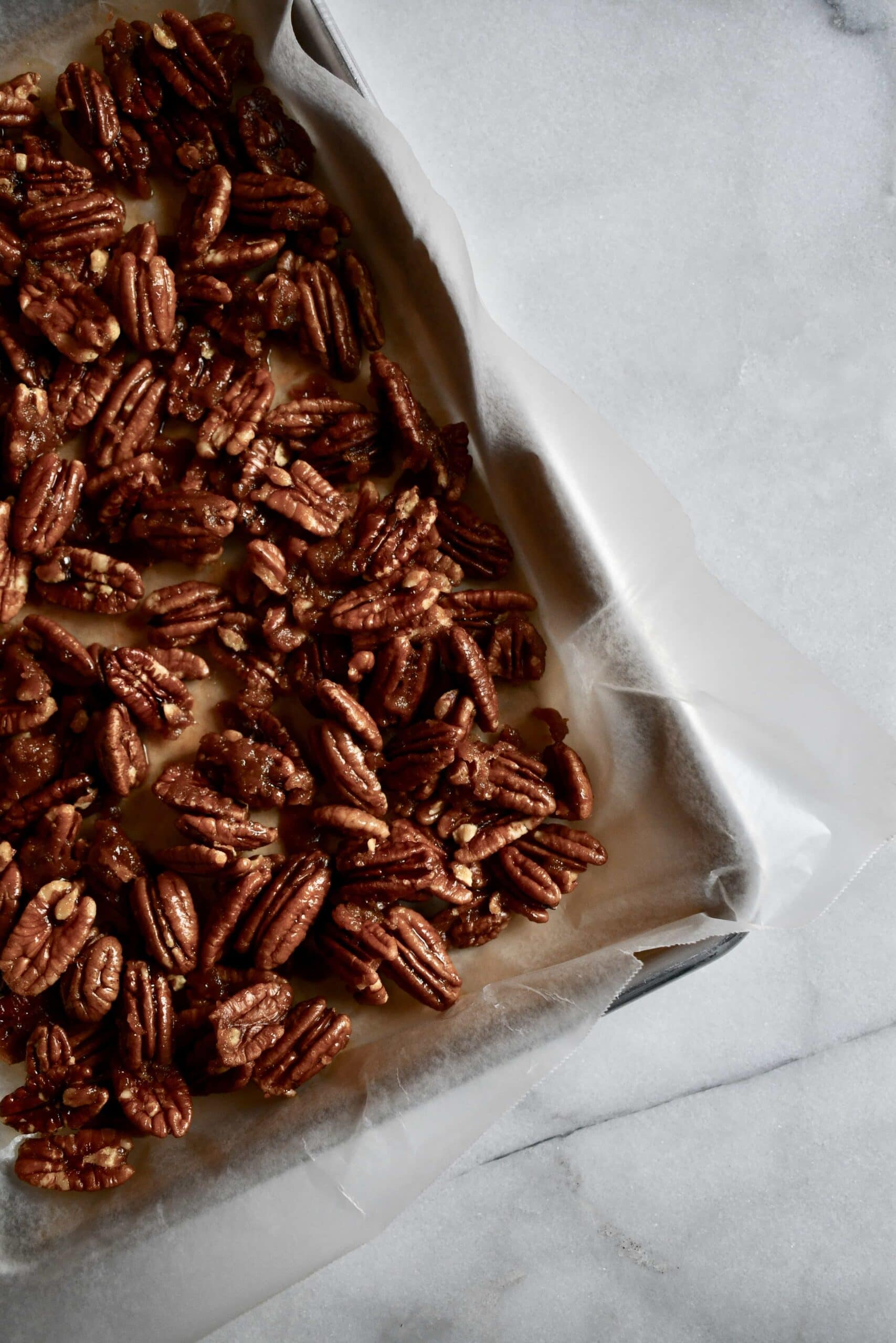Joanna Gaines Buttered Walnuts or Pecans prepared by KendellKreations.com
