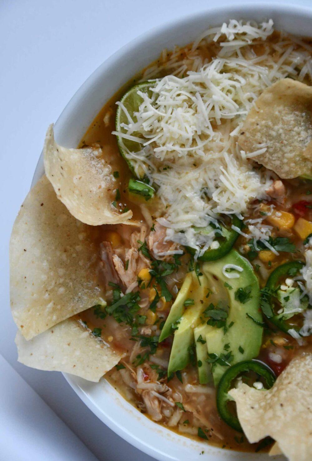 Joanna Gaines tortilla soup prepared by KendellKreations