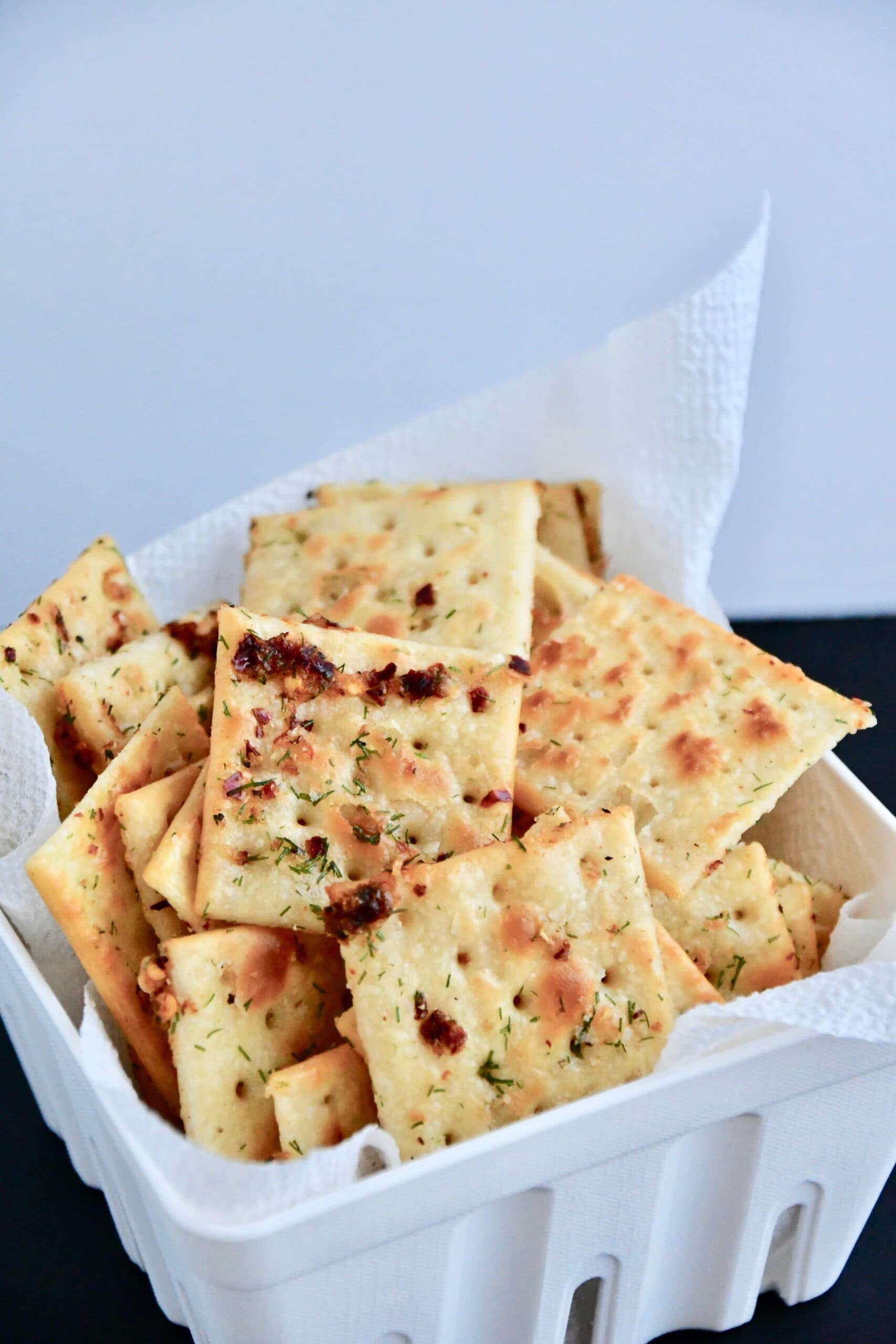 Joanna Gaines recipe for Beck's Crackers from the Magnolia Table Cookbook Vol. 1.