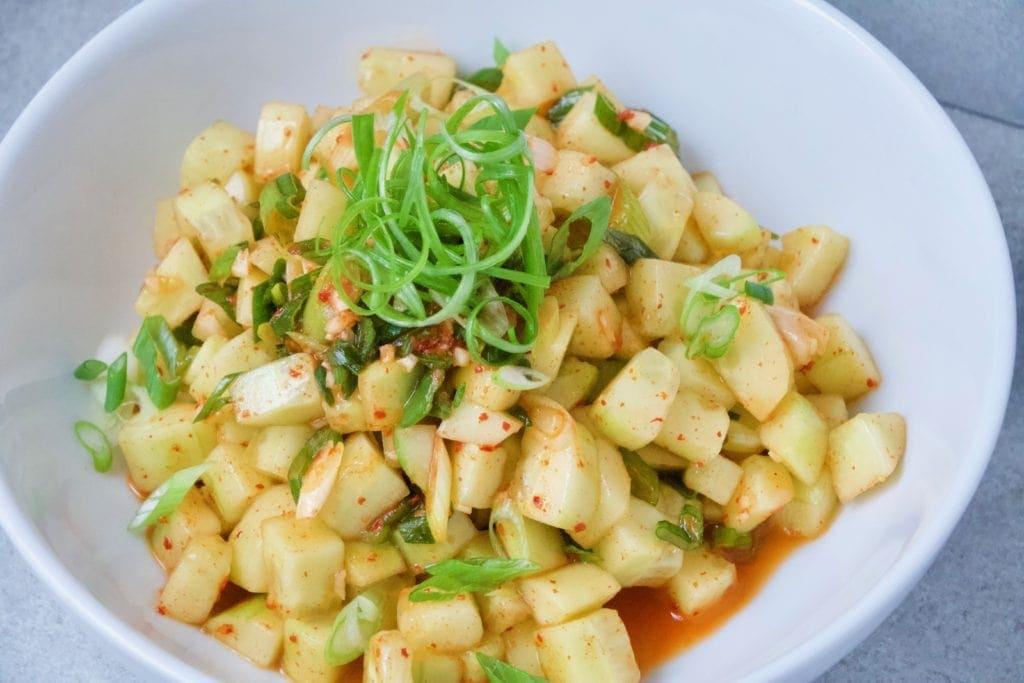 Cucumber Kimchi Salad from Joanna Gaines Magnolia Table Cookbook