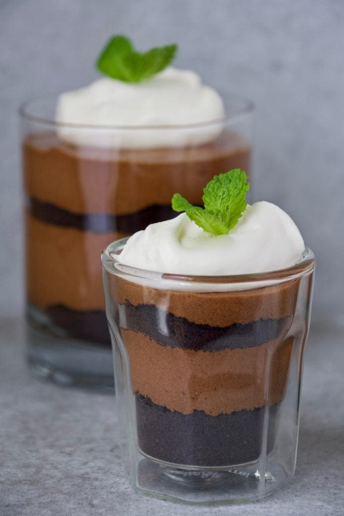 Joanna Gaines Mocha Trifle Cups from the Magnolia Table Cookbook volume 1 prepared by kendell kreations