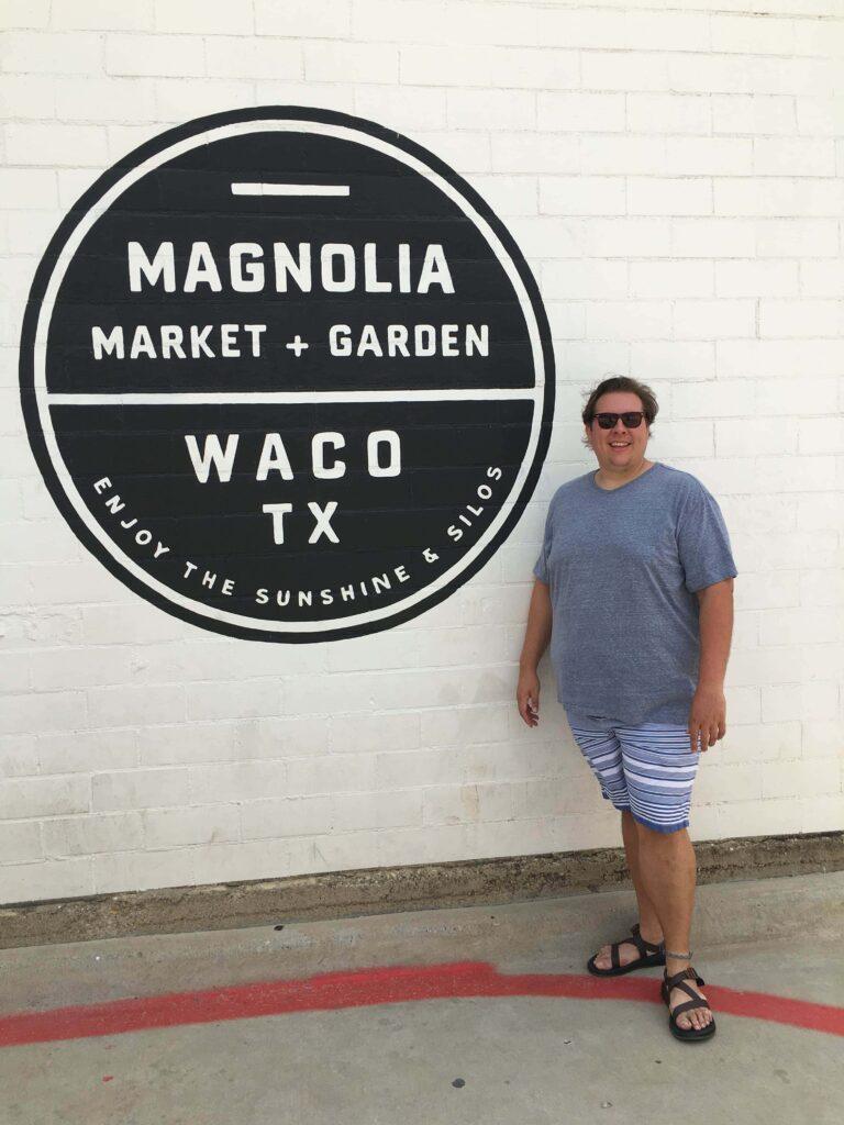 Kendell at Magnolia Market and Garden Waco, TX