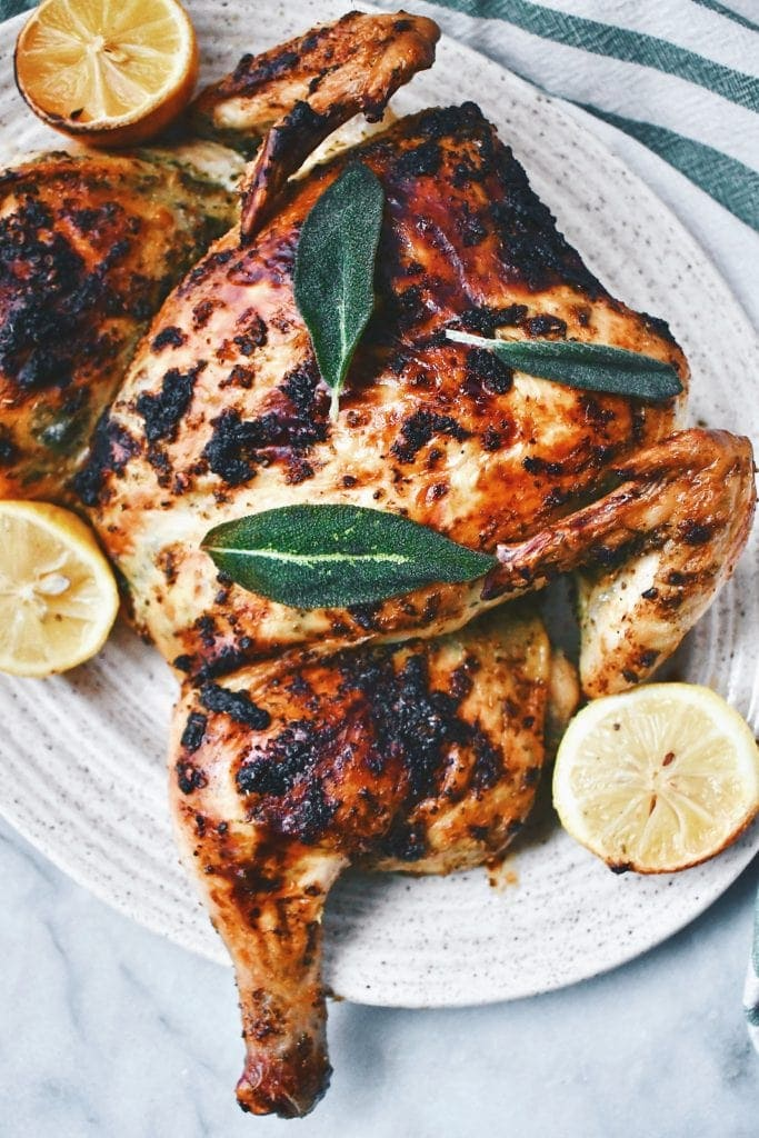 Spatchcock Chicken.