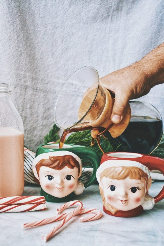 Candy Cane Coffee Creamer