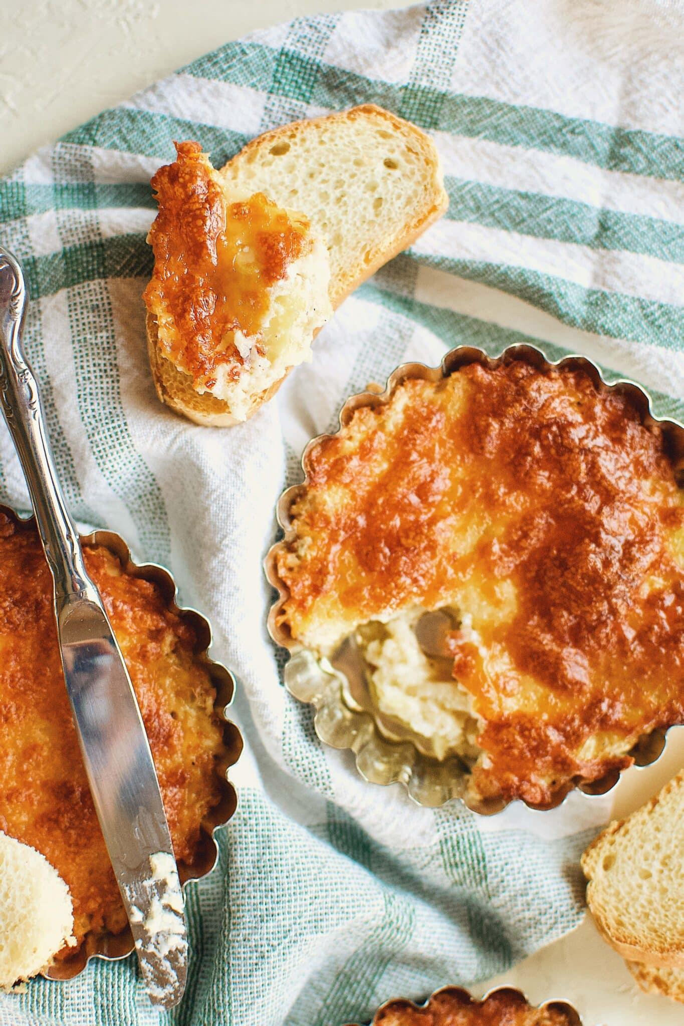Artichoke Three Cheese Dip Kendellkreations