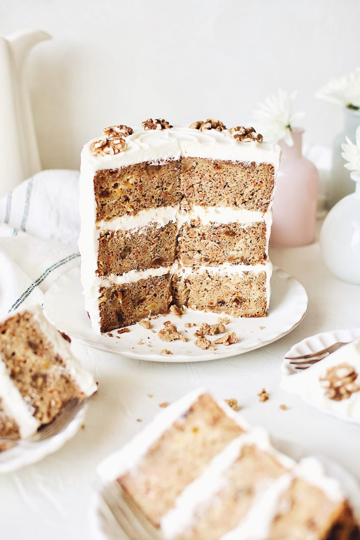 Carrot Cake with Pineapple and Orange