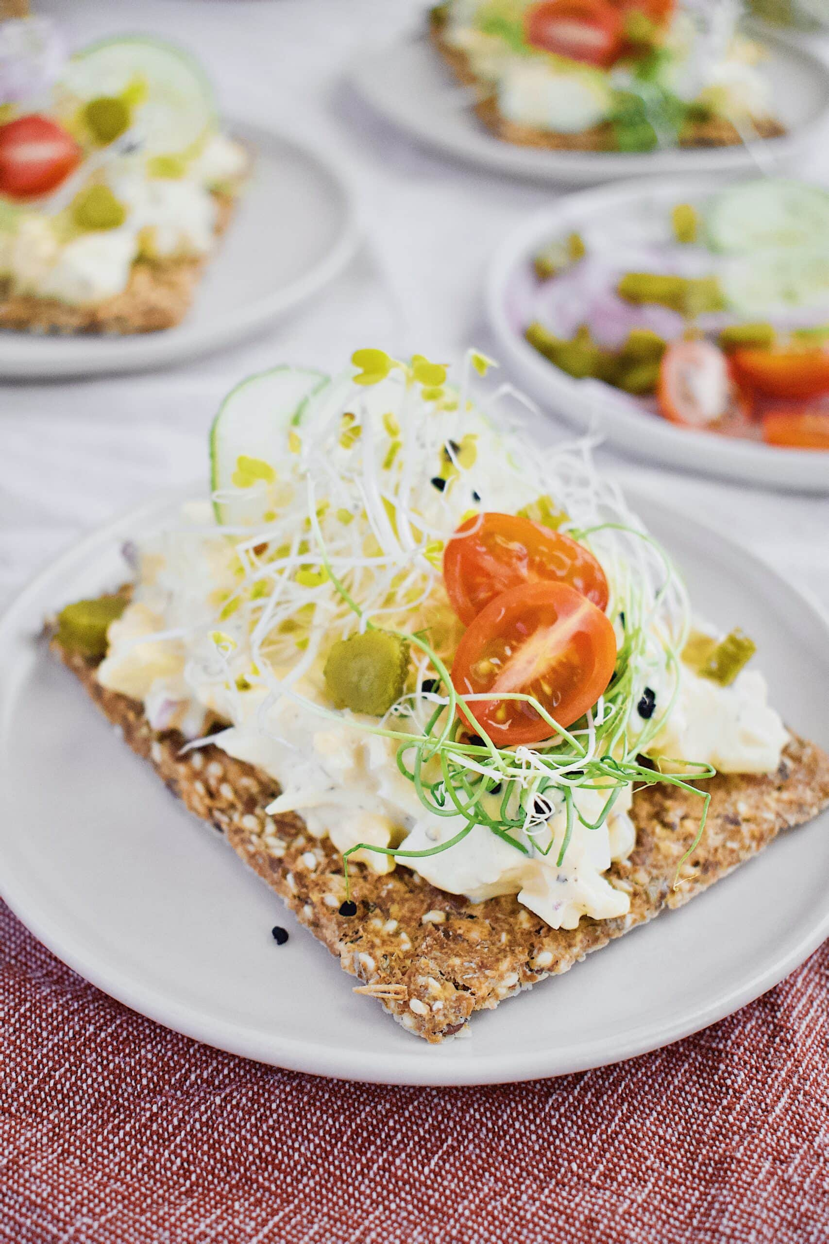 Nordic Egg Salad ready to eat