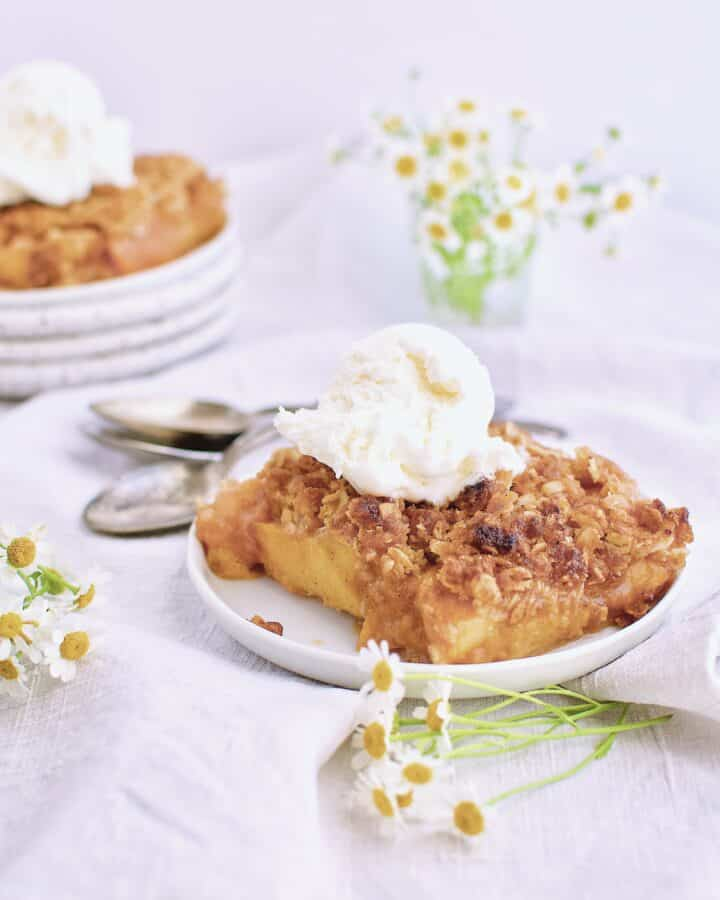 Spiced Peach Pie