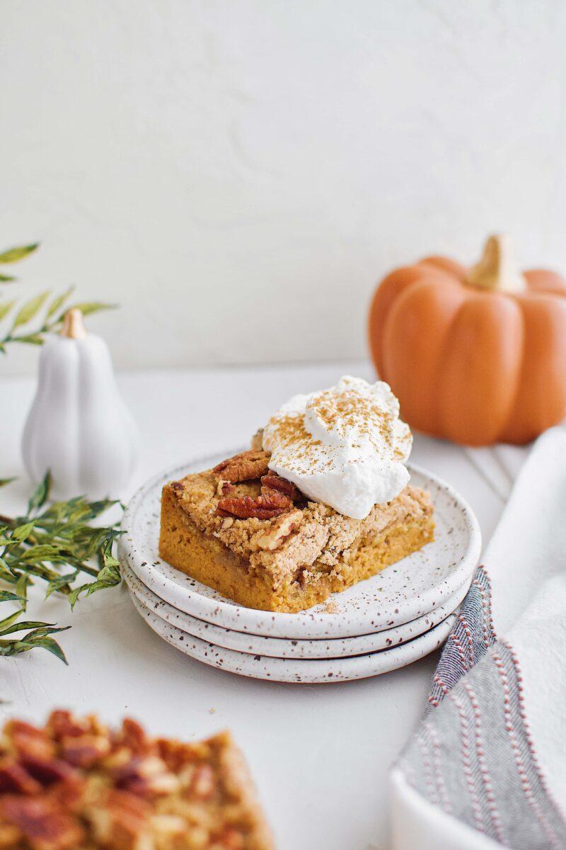 Single Pumpkin Dessert Bar