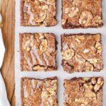 Classic Fudgy Walnut Brownies