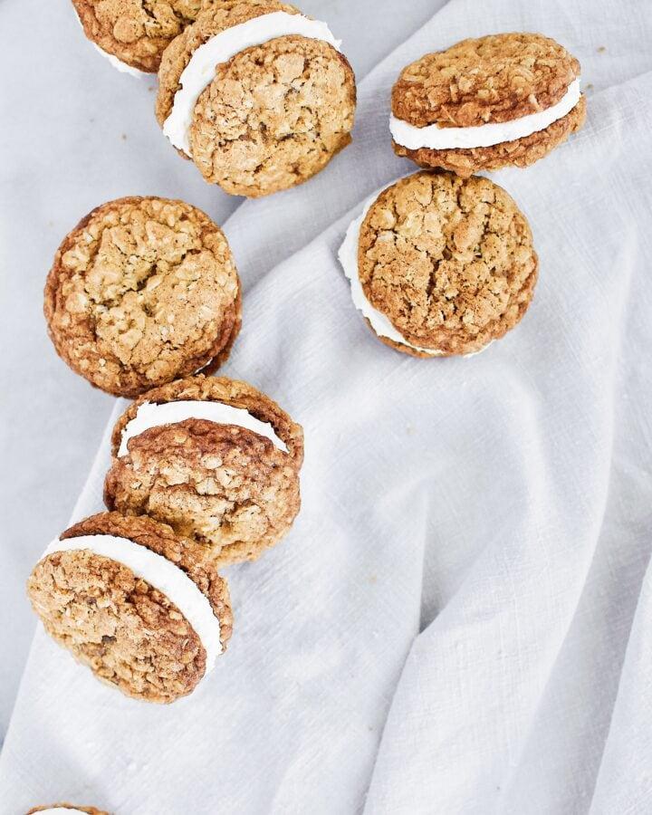 Joanna Gaines recipe for Oatmeal Cream Pies