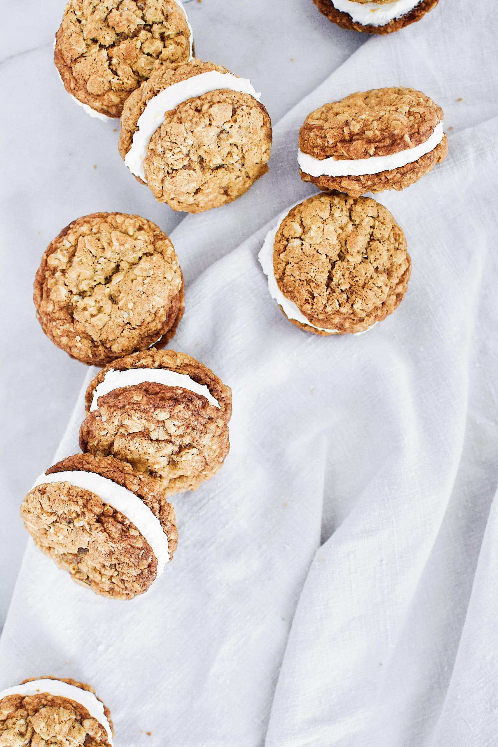 Joanna Gaines recipe for Oatmeal Cream Pies