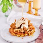 Chicken & Mac n' Cheese Waffles