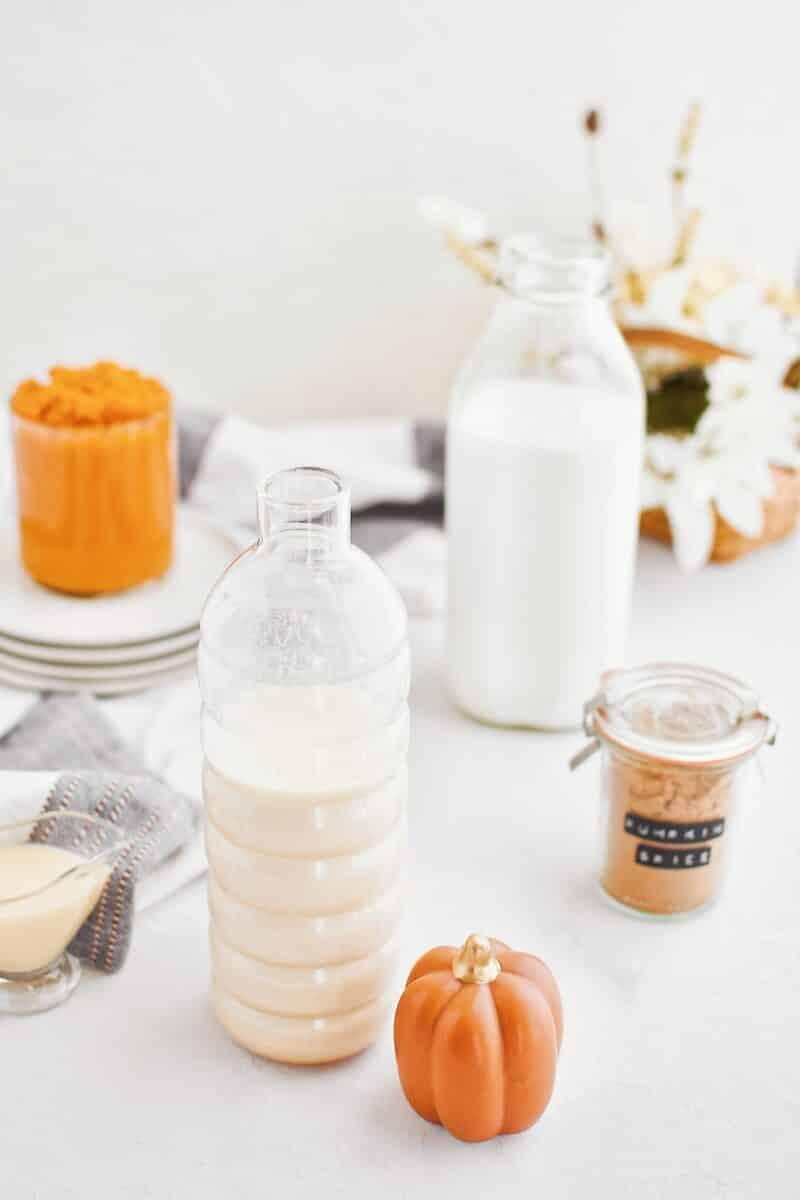 Pumpkin Milk ingredients