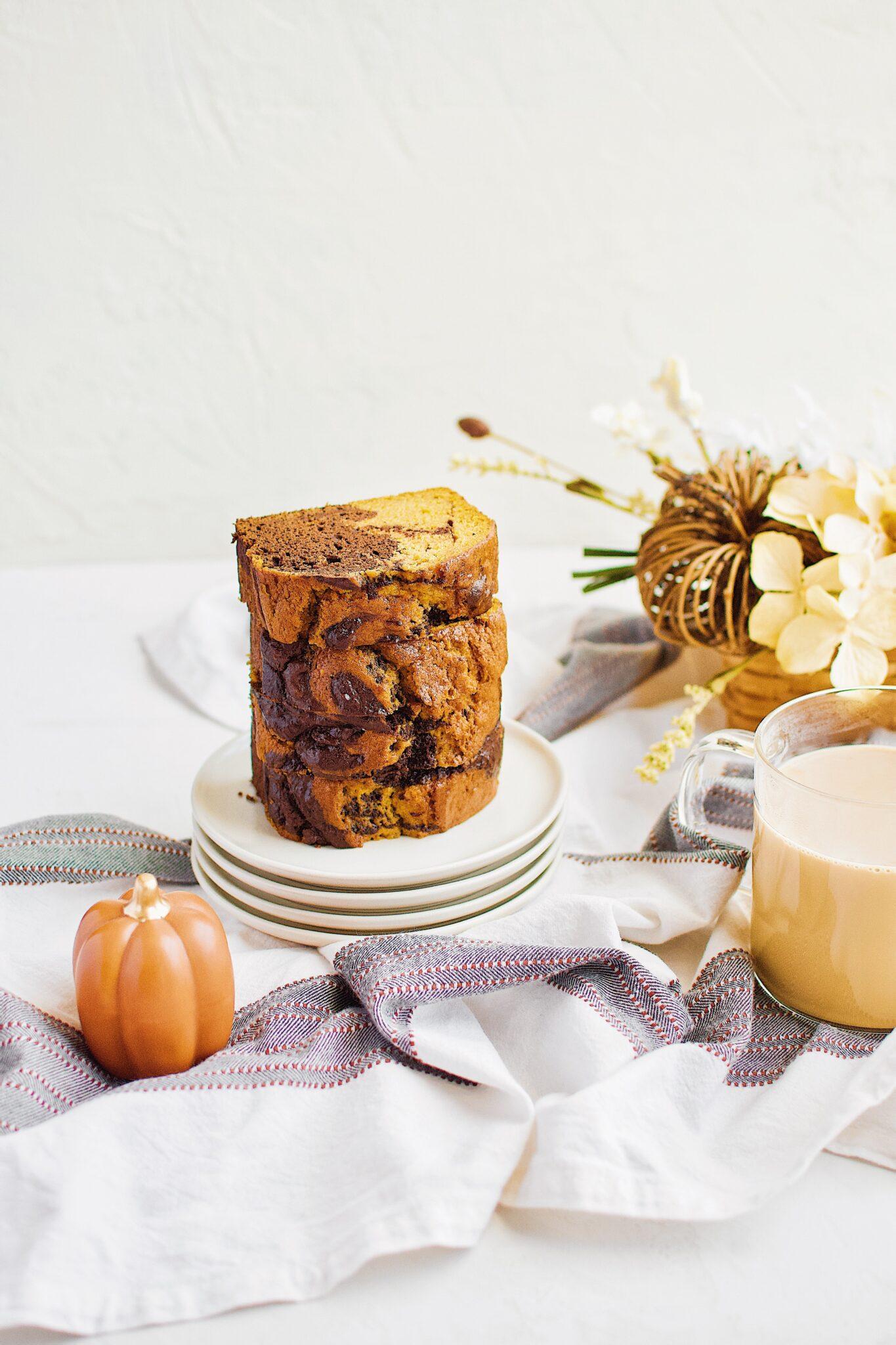 Chocolate Pumpkin Swirl Bread