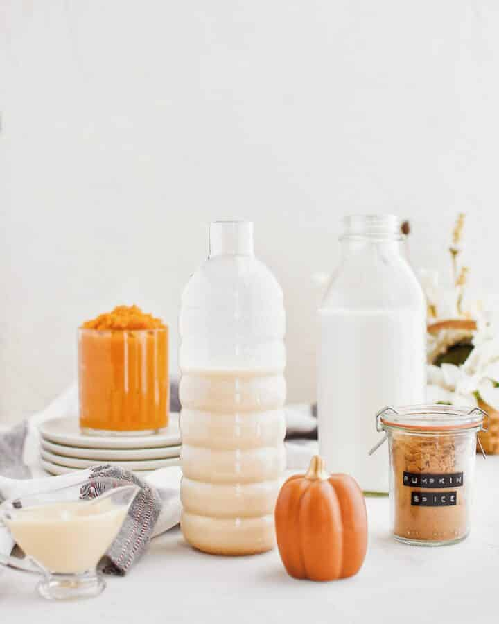 Pumpkin Milk ingredients