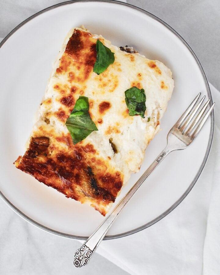 Joanna Gaines recipe for White Vegetable Lasagna