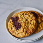 Pumpkin Chocolate Chunk Oatmeal Cookies.