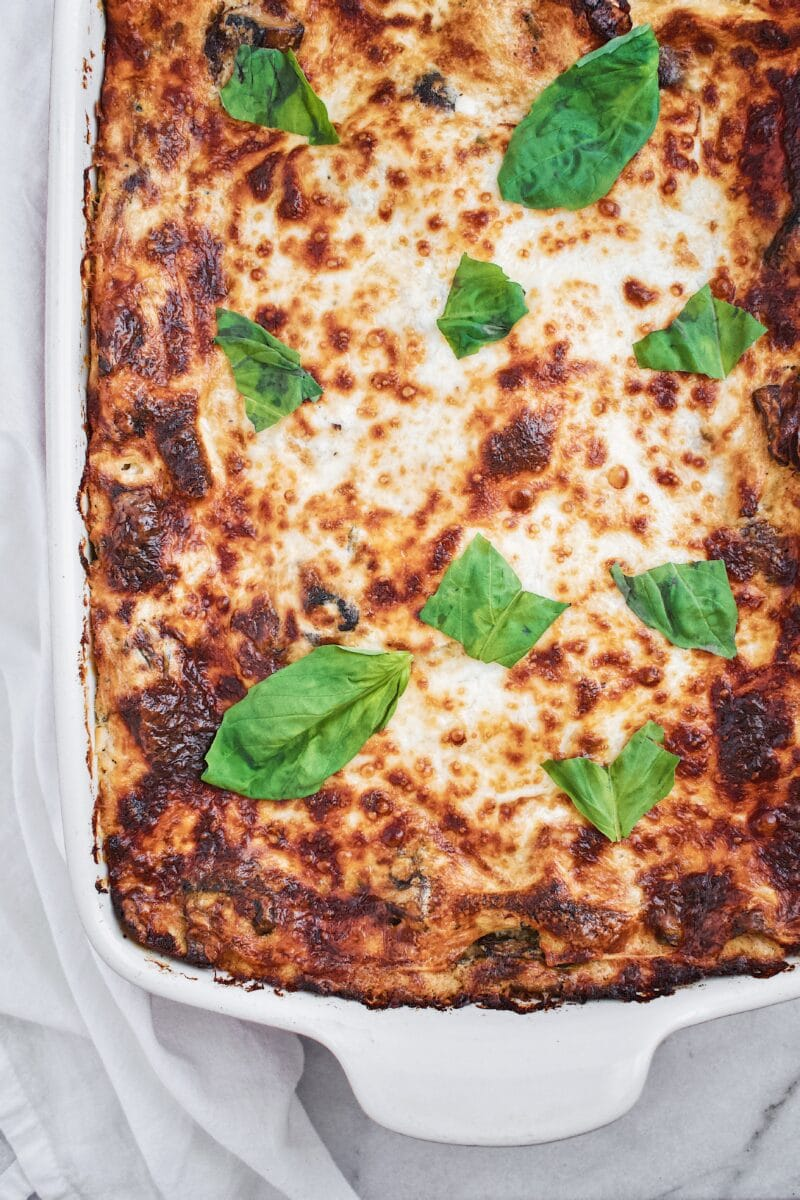Joanna Gaines recipe for White Vegetable Lasagna