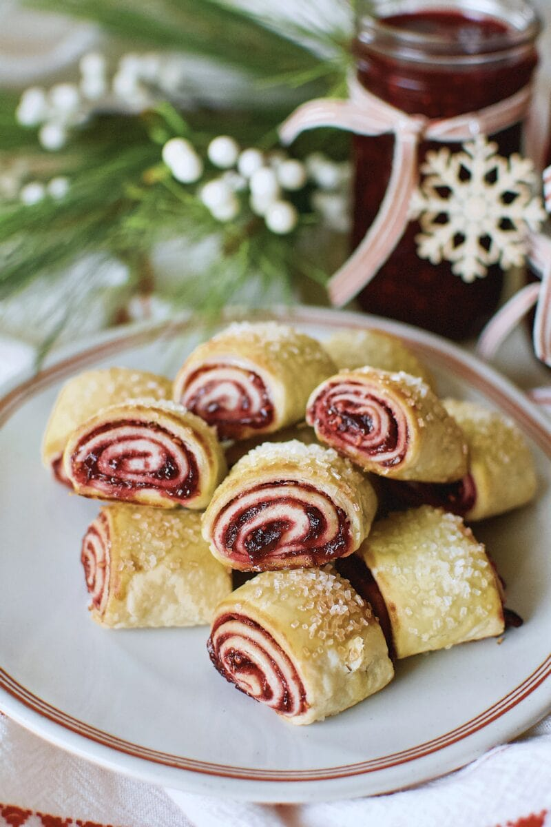 Cran-Raspberry Jam used to make rugelach cookies for Christmas.