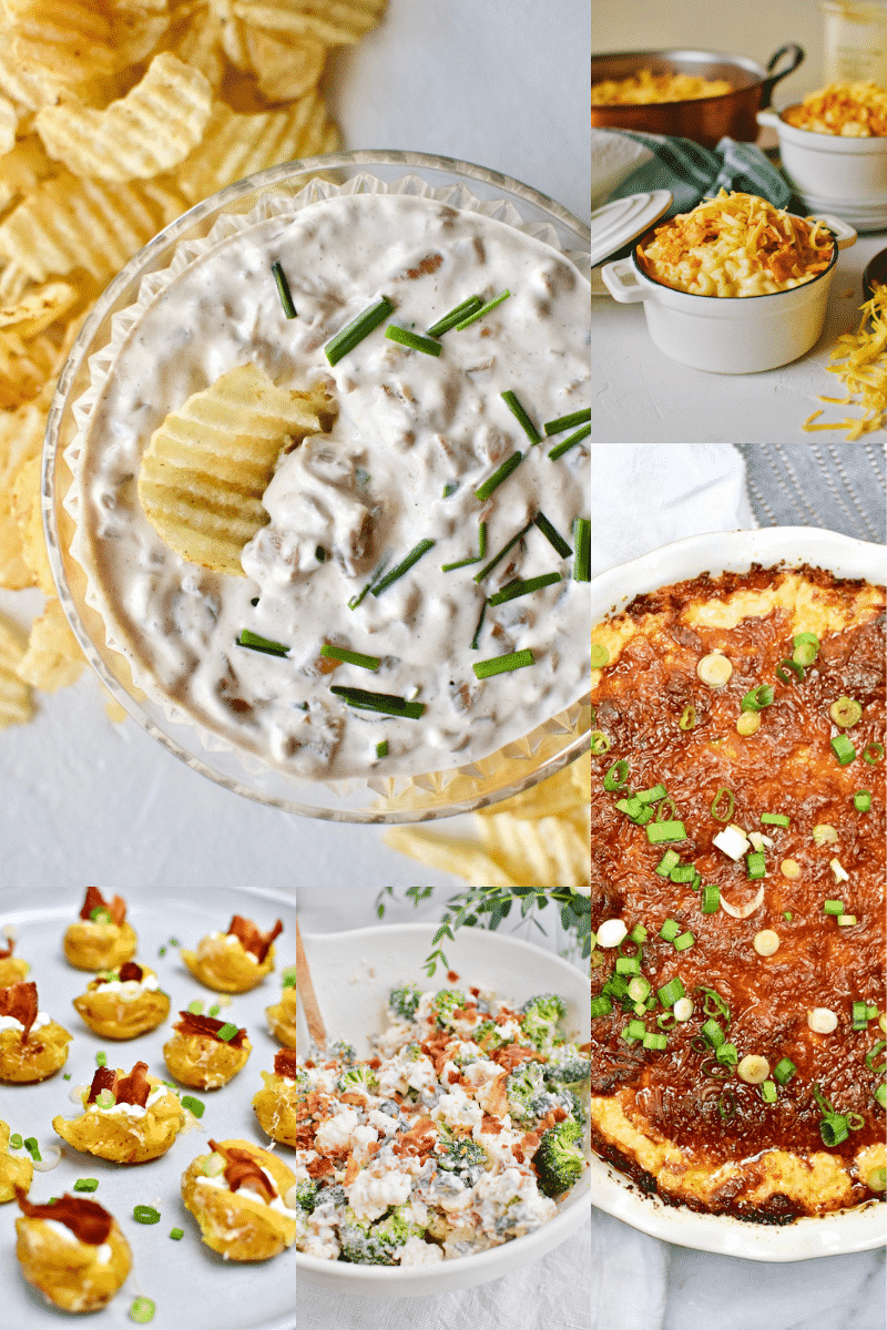 Game Day Snacks Collage