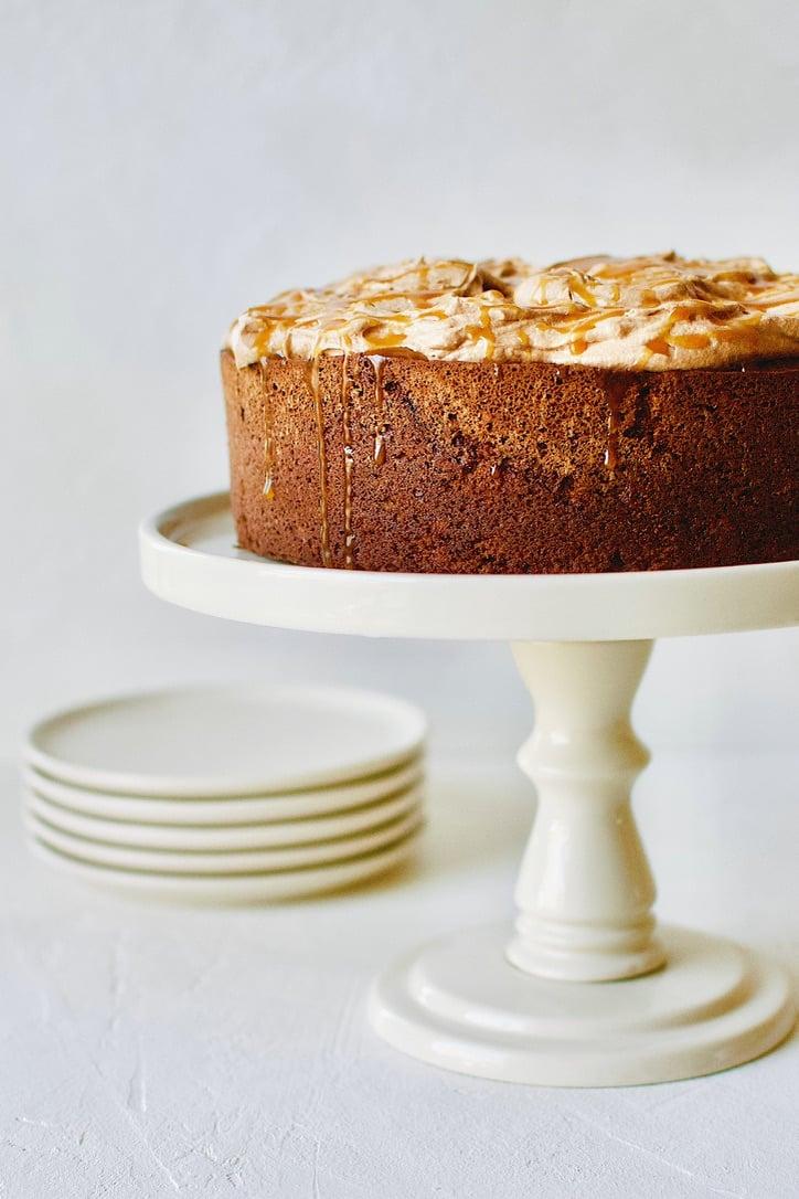 Chocolate Stout Cake with Irish Cream Buttercream